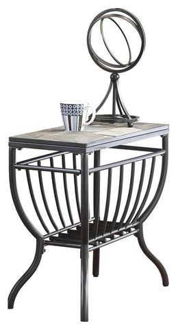 Industrial Chic End Table