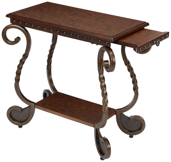 Antique Rectangular End Table