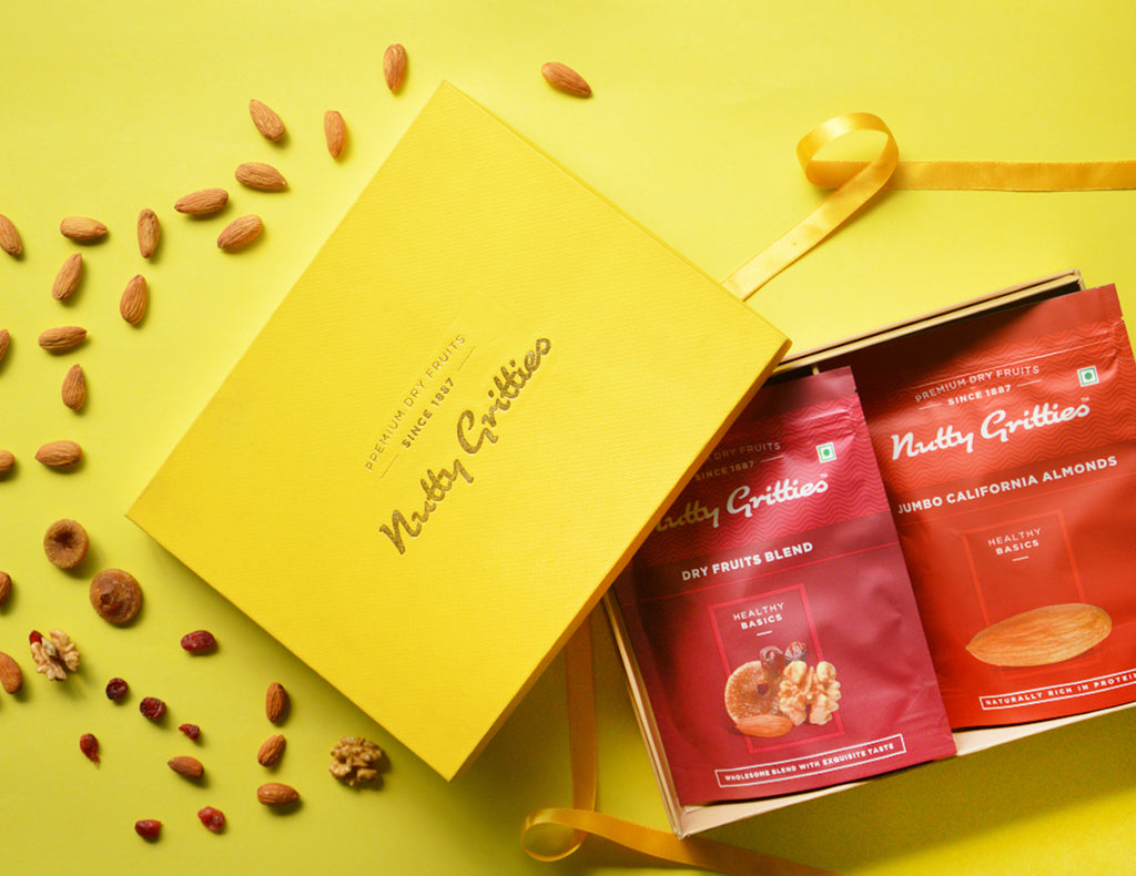 Rakhi Gifting with Nutty Gritties