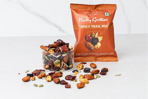Nutty Gritties Spicy Trail Mix - 324gms ( Pack of 6 - Each 54g)