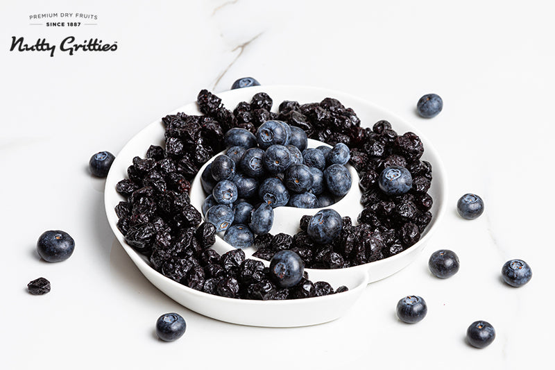 Dried Blueberries ( Blueberry )- 150grams