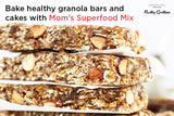 Mom's Superfood Trail Mix - Roasted Almonds, Pumpkin, Sunflower, Watermelon, Flax Seeds, Black Raisins, Black Currant, Cranberries and Blueberries - 200g