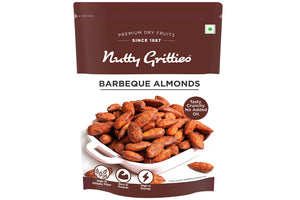 Barbeque Almonds 200 g (Pack of 5 )