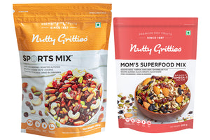 Signature Gift Box Sport mix 350g, Mom superfood 200g