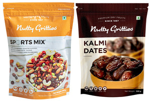 Festive  Box Set -  Premium Kalmi Dates 350g, Sports Mix 350g - 700g
