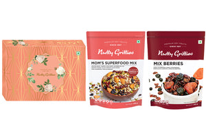 Signature Gift Box -  Mix Berries 200g + Mom's Superfood Mix, 550g