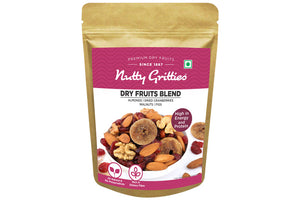Dry Fruits Blend - California Almonds, Walnuts, Figs and Cranberries, 350g