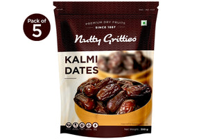 Premium Kalmi Dates, Pack of 5 (350g Each), 1.75kg