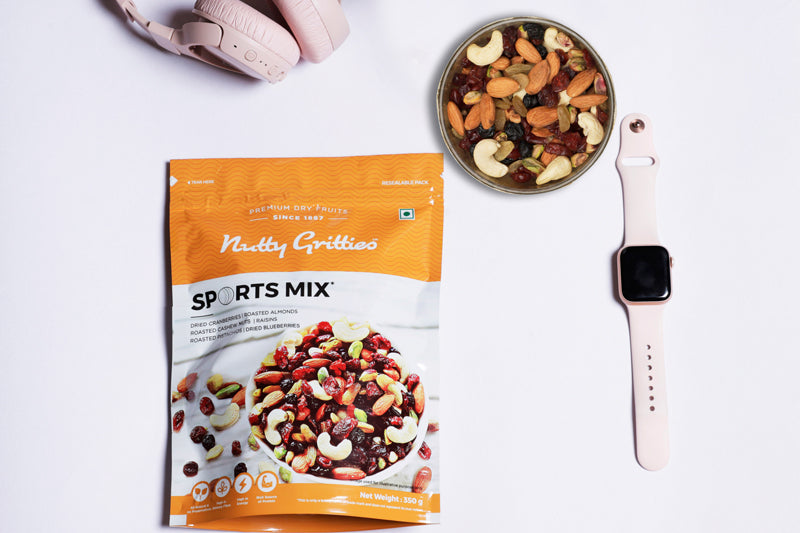 Nutty Gritties Platinum Trail Mix Gift 750g