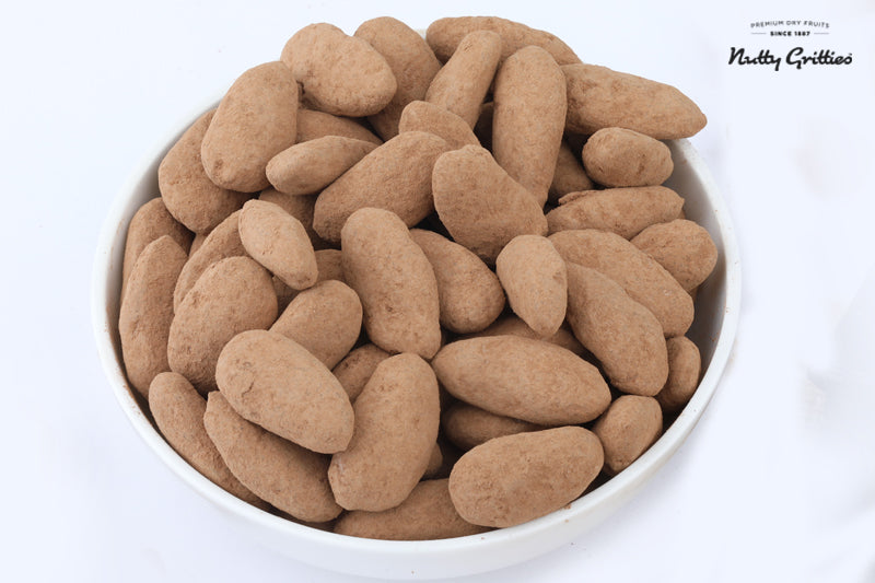 Dark Chocolate Almonds, 200g