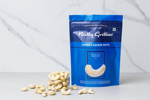Jumbo Cashew Nuts (Pack of 2, 200 g Each ) 400 g