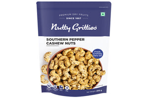 Southern Pepper Cashew Nuts - 200 g