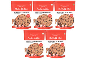 Roasted Salted Almonds 200g (Pack of 5)