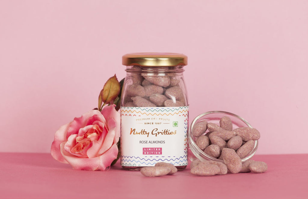 Exotic Rose Almonds 100 g