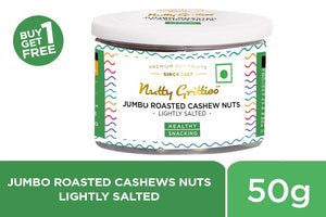 Salted Cashews 50g -Can (Buy 1 Get 1 Free )
