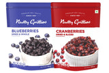 Cranberries Blueberries Combo( US Cranberries + Blueberries-200g Each) - 350g