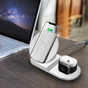 3 in 1 Ultimate Wireless Apple Docking Station