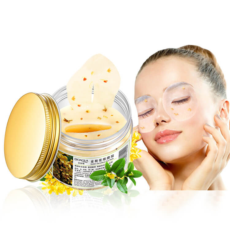 80 Pcs - Golden Osmanthus Eye Mask