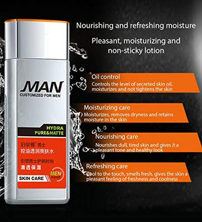 Menonly Endless Energy Toner Moisturizing - Passion And Charm - Customized For Men - BIOAQUA® OFFICIAL STORE