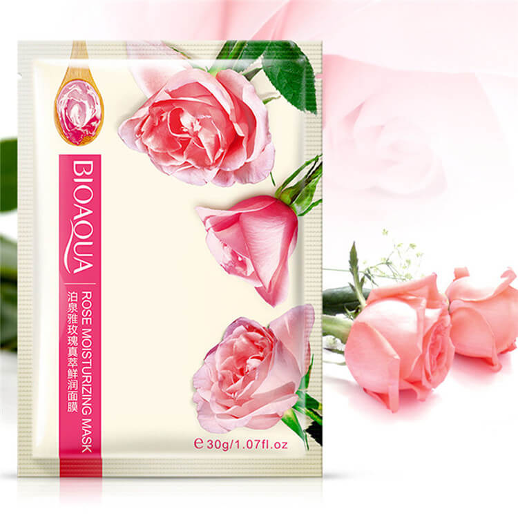 Natural Nourishing Moisturizing Facial Mask - Rose/ Lemon/ Honey - BIOAQUA® OFFICIAL STORE