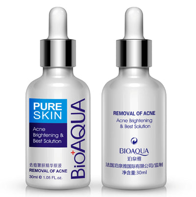 PURE SKIN Acne Brightening & Best Solution - Removal Of Acne Liquid - BIOAQUA® OFFICIAL STORE