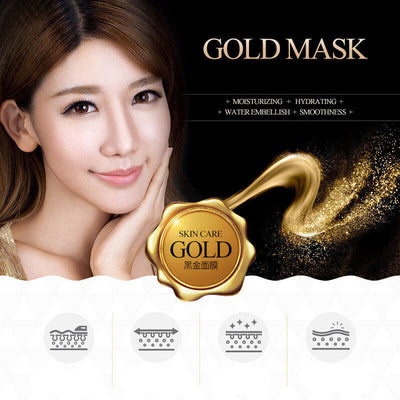 High Quality Gold Above Beauty Mask - Tired Skin Soothing Hydrating & Moisturizing - BIOAQUA® OFFICIAL STORE
