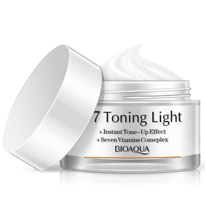 V7 Toning Light Deep Hydration Cream - Vitamins & Instant Tone-up Effect - BIOAQUA® OFFICIAL STORE