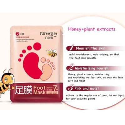 Young Skin Exfoliating Foot Mask - BIOAQUA® OFFICIAL STORE