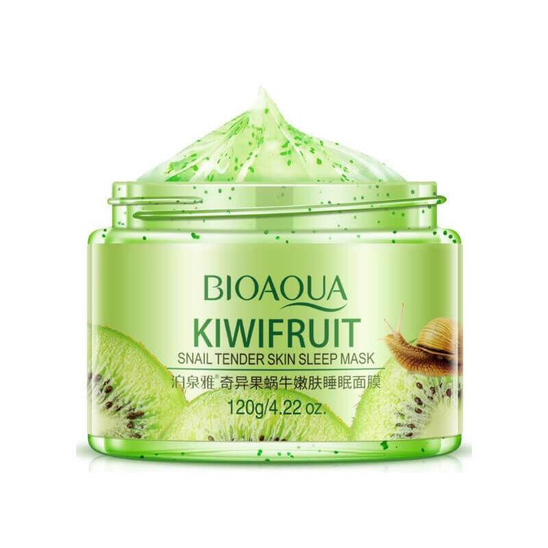 Kiwifruit Snail Tender Skin / Pomegranate Fresh Moisturizing Mineral Sleep Mask - BIOAQUA® OFFICIAL STORE