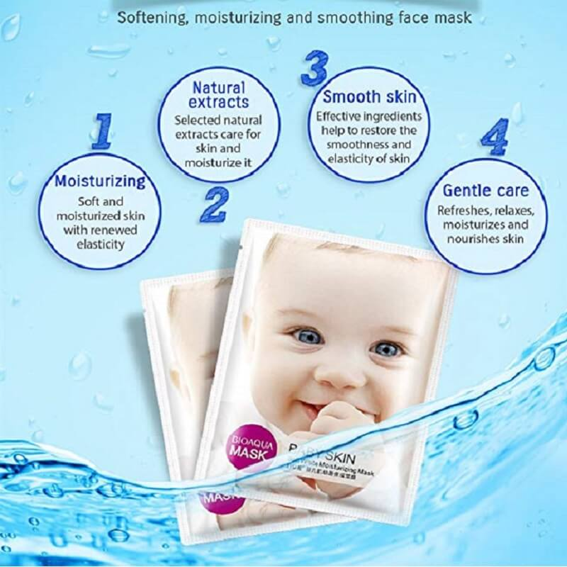 Baby Skin Facial Mask - BIOAQUA® OFFICIAL STORE