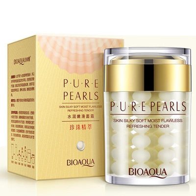 PURE PEARLS - Skin Silky Soft Moist Flawless Refreshing Tender Hydra Serum - BIOAQUA® OFFICIAL STORE