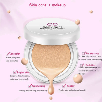 Air Cushion Baby Skin Whitening BB/CC Foundation Cream - BIOAQUA® OFFICIAL STORE