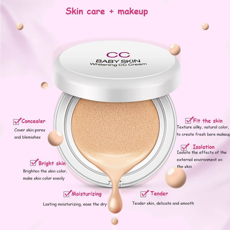 Air Cushion Baby Skin Whitening BB/CC Foundation Cream