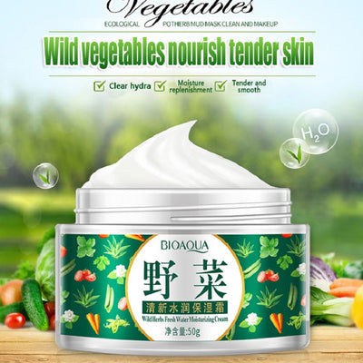 Wild Herbs Vegetables Fresh Water Moisturizing Cream