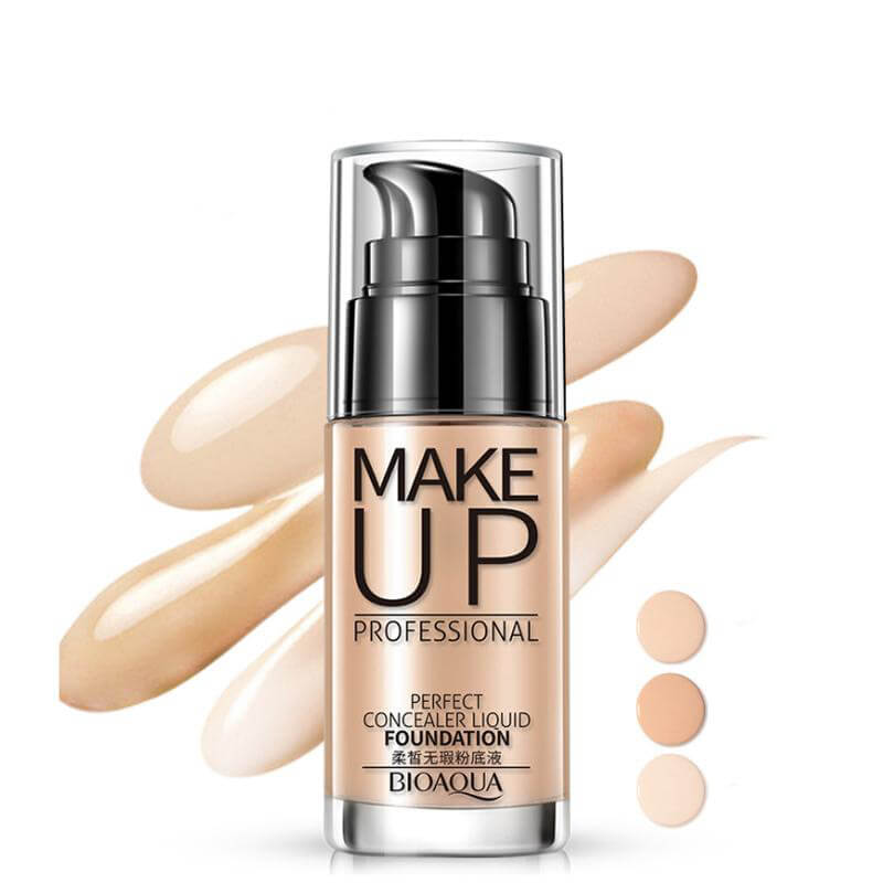 Perfect Concealer Liquid Foundation - Professional Makeup (FREE Shipped By DHL, 3-7 Business Days) - BIOAQUA® OFFICIAL STORE