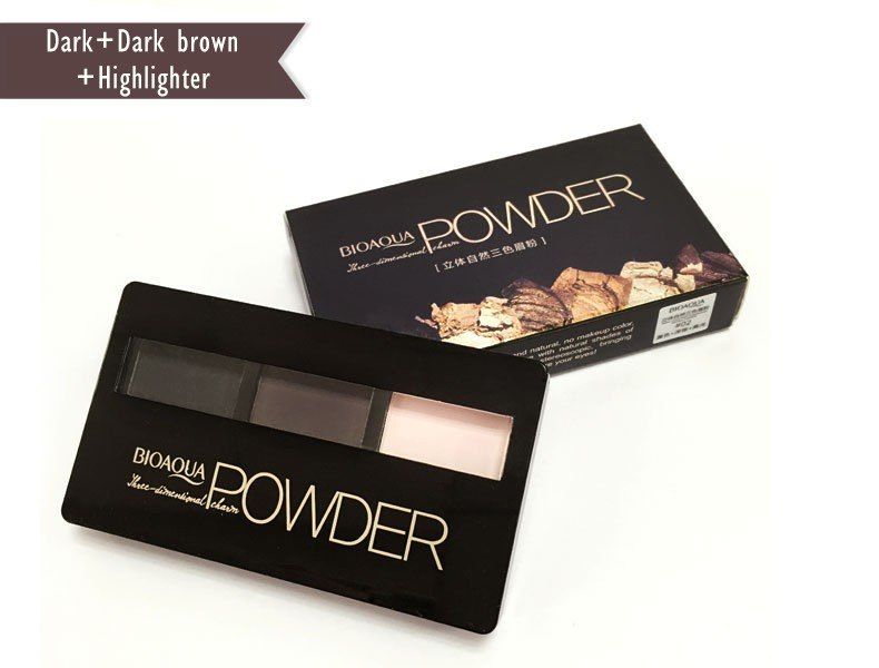 Professional Kit Eyebrow Powder + Eyebrow Powder Palette Makeup