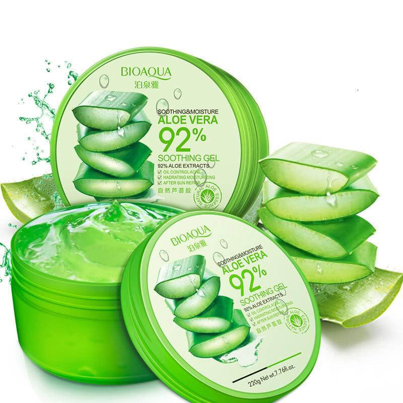 Soothing & Moisture Aloe Vera Gel - 92% Aloe Extracts - BIOAQUA® OFFICIAL STORE
