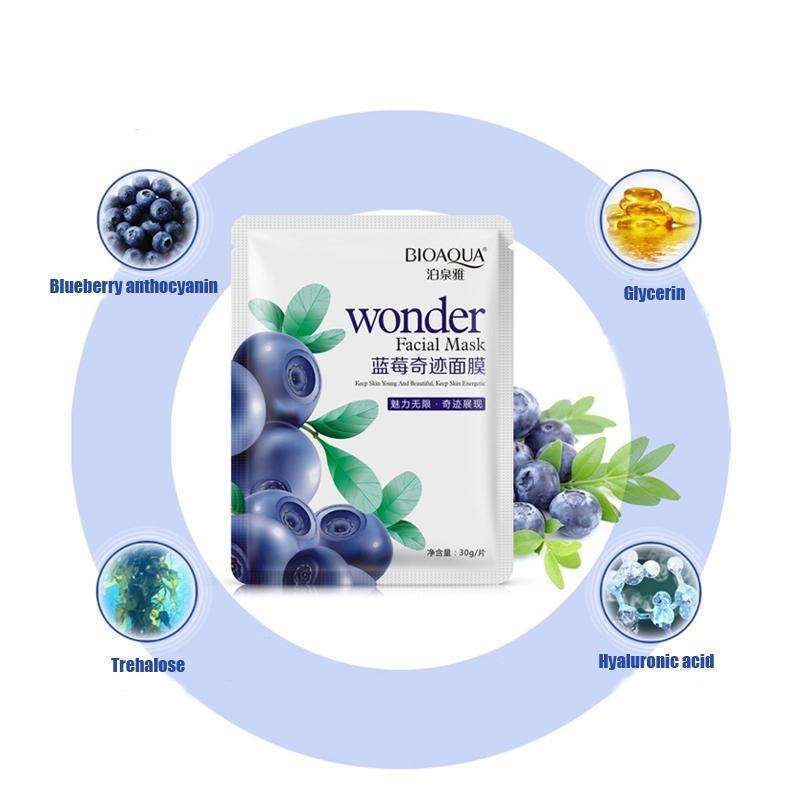Natural Blueberry Wonder Facial Mask