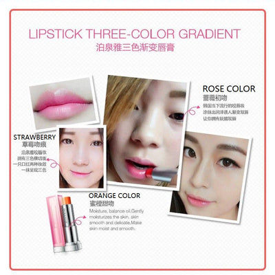 Sexy Bite Lips Three Color Lipstick - A Lipstick Two Touch Tricolor - BIOAQUA® OFFICIAL STORE