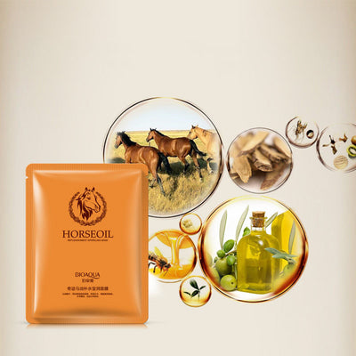 Horse oil Facial Mask