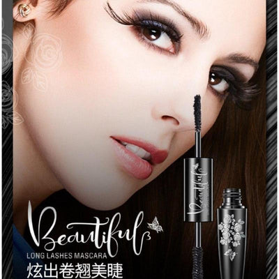 Double Effect Double-head Mascara - Red/ Black