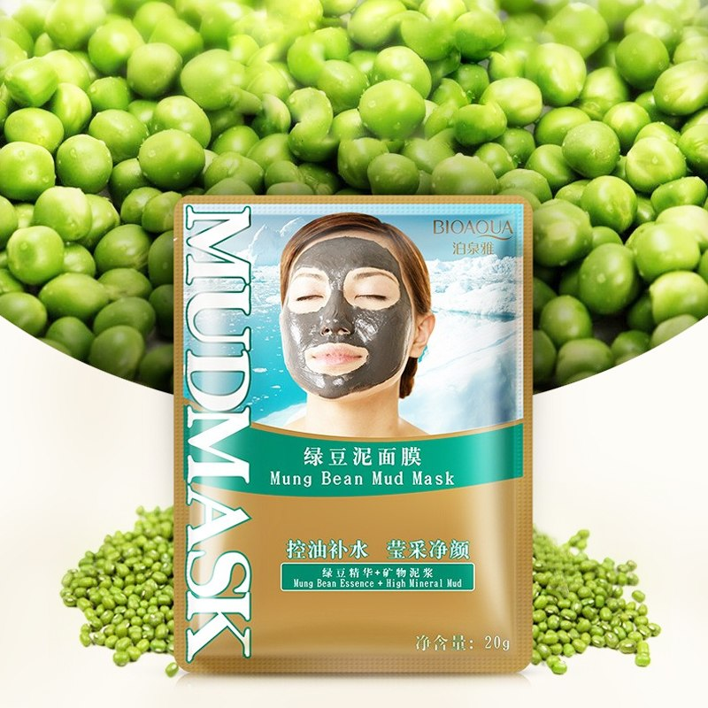Mung Bean Mud Facial Mask