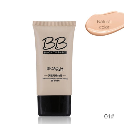 Natural Flawless Moisturizing BB Cream - Back to Baby - BIOAQUA® OFFICIAL STORE