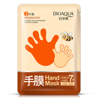 Honey Hand Mask - Keep Skin Young & Beautiful & Energetic - BIOAQUA® OFFICIAL STORE