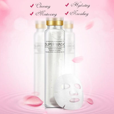 Bottle Whitening Moist Spa Super Facial Mask