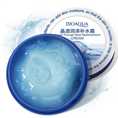 Crystal Through Moist Replenishment Cream - Lifting Firming & Anti Wrinkle - BIOAQUA® OFFICIAL STORE