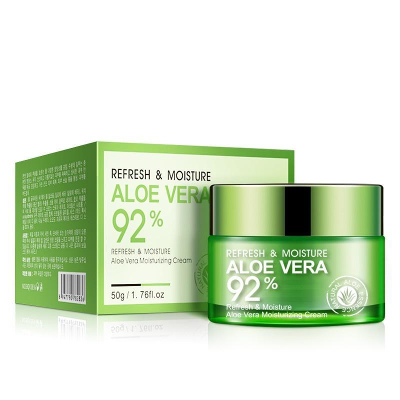 Aloe Vera Essence Gel Facial Cream - 92% Aloe Extracts