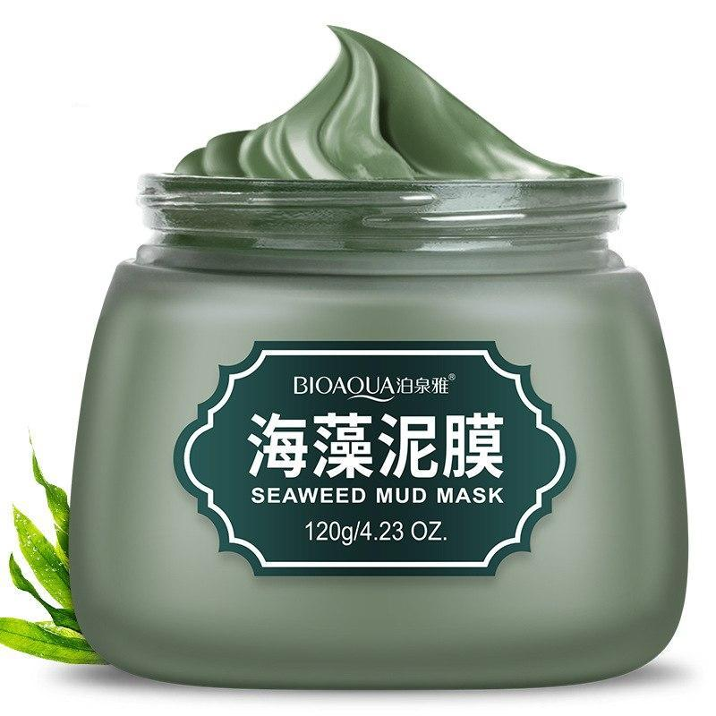 Seaweed mud  Replenishment Oil Control Shrink Pores Facial Mask