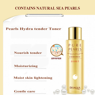 PURE PEARLS - Essence Deep Moisturizing Facial Toner