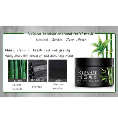 CLEANSE Activated Carbon Black Mud Facial Mask